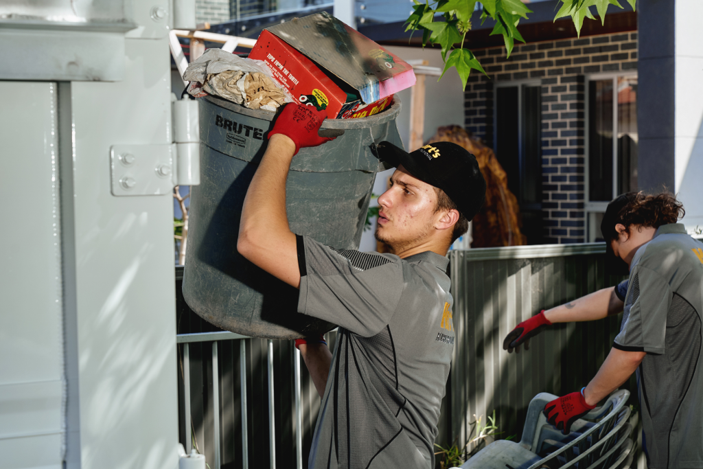 unwanted rubbish removal sydney