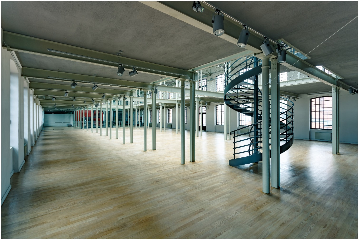 empty commercial space